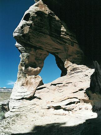 Ruin Arch, Buckhorn Canyon, San Rafael Swell, Emery County, Utah