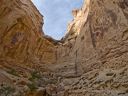 San Rafael Bridge, Farnsworth Canyon, San Rafael Swell, Emery County, Utah