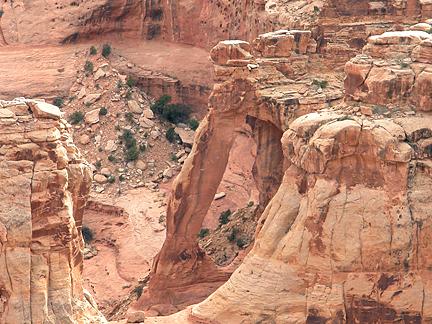 Spring Canyon Arch, Spring Canyon, San Rafael Swell, Emery County, Utah